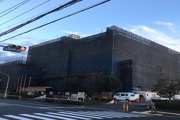 葛飾区施設外壁改修工事