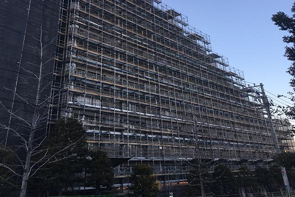 世田谷区マンション外壁修繕工事
